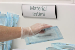 Esterilización de los materiales y desinfección de superficies en clínica dental